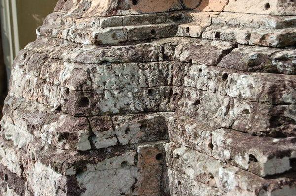 石頭上都是洞洞