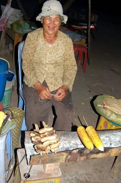 烤玉米,單純的滋味,讚!