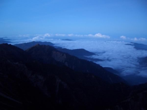 清晨的雲海