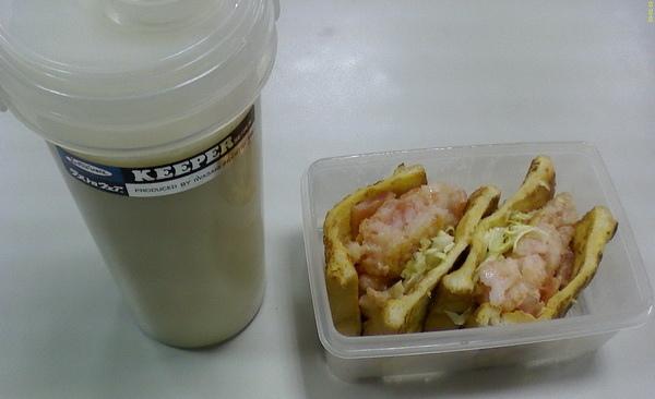 090119號愛心早餐_豆漿+法國吐司