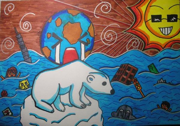 創意表現-全球暖化