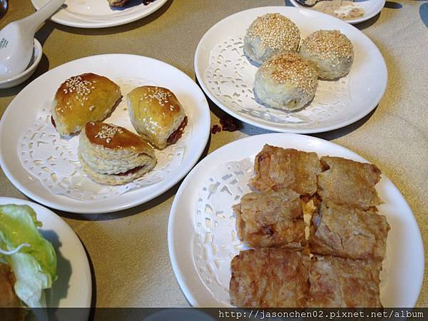 叉燒酥燒餅海鮮腐皮捲