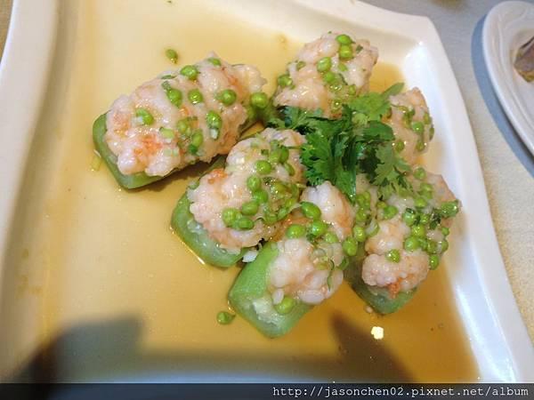 鮮蝦釀絲瓜