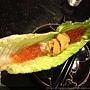 海膽魚卵蘿蔓卷