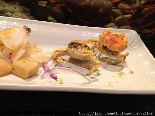 酥炸小螃蟹