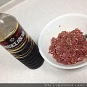 青椒鑲肉二
