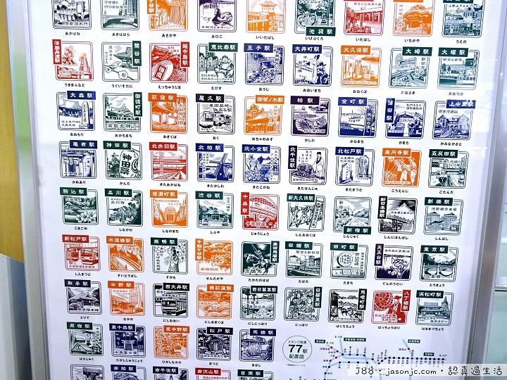 JR品川車站紀念戳章、東京觀光地圖手冊、從品川車站到京急EX Inn品川站前飯店