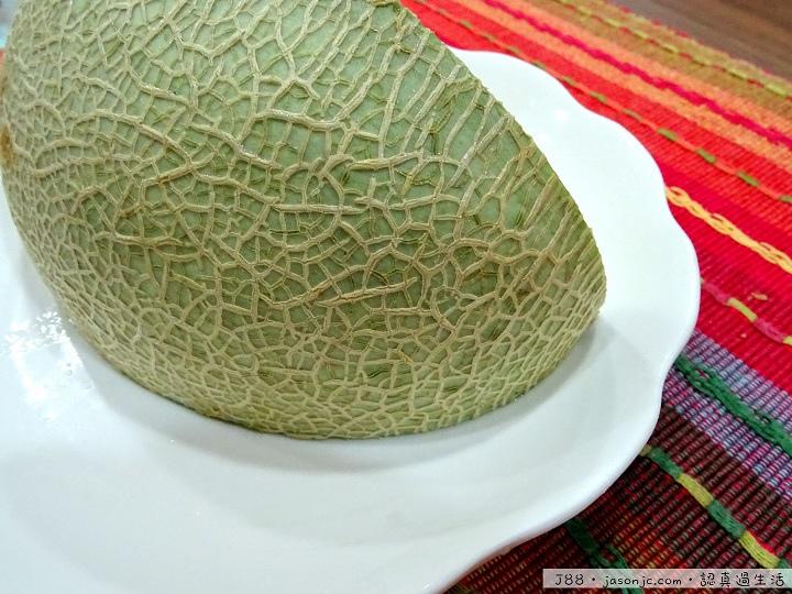 網紋綠肉哈密瓜
