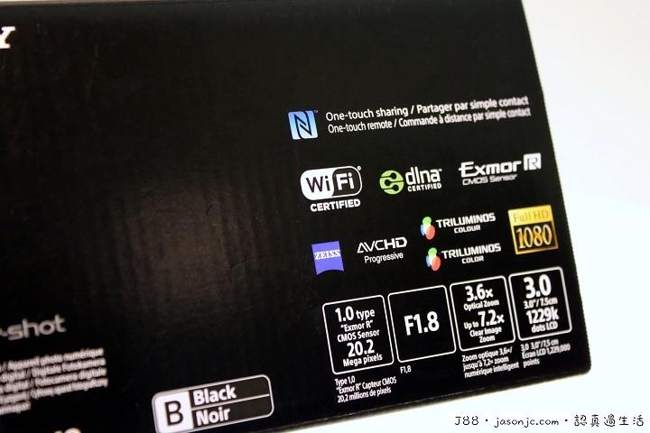 Sony Cyber-shot DSC-RX100 II開箱