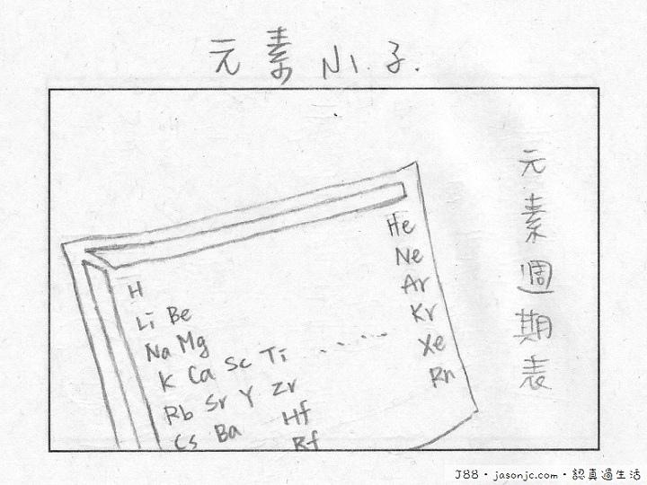 元素小子:好難背的化學元素週期表