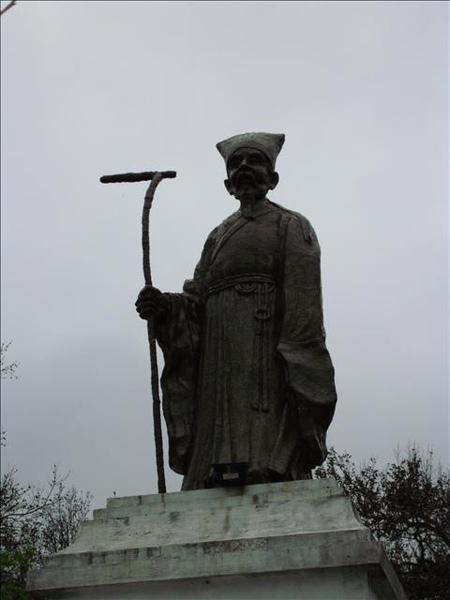 王陽明銅像