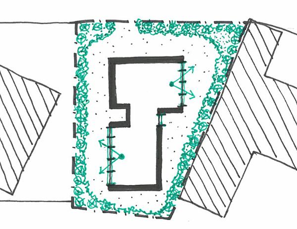 建築旅人 建築 建築設計 建案 創空間 自地自建 環境友善 綠色建築 老屋重建 老屋改建 城市設計 城市規劃 建築事務所 陽明山建築 拆除重建 JamesTurrell Tending view-framing