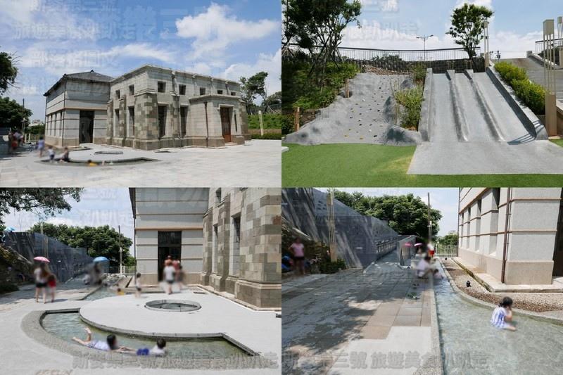 [新竹東區] 水道取水口展示館 免費玩水溜滑梯攀岩趣 20190601