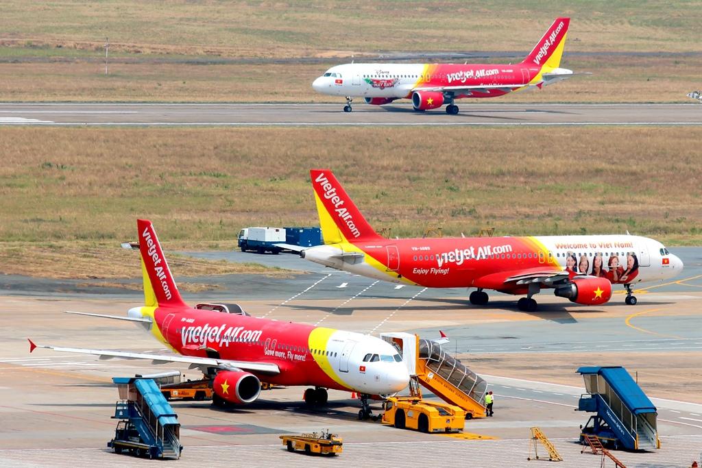 Đội tàu bay mới và hiện đại của Vietjet.jpg