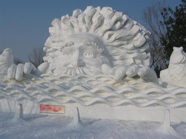 太陽島雪雕