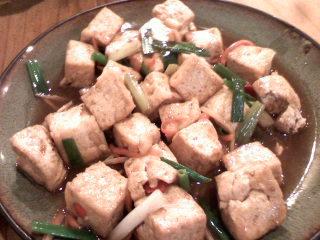 上菜囉~客家豆腐