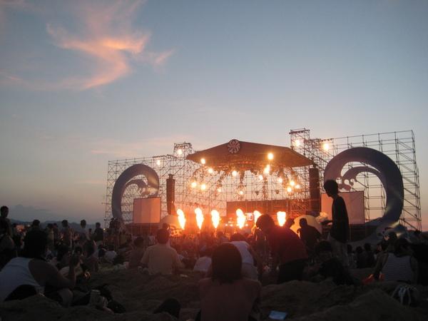 日落大舞台