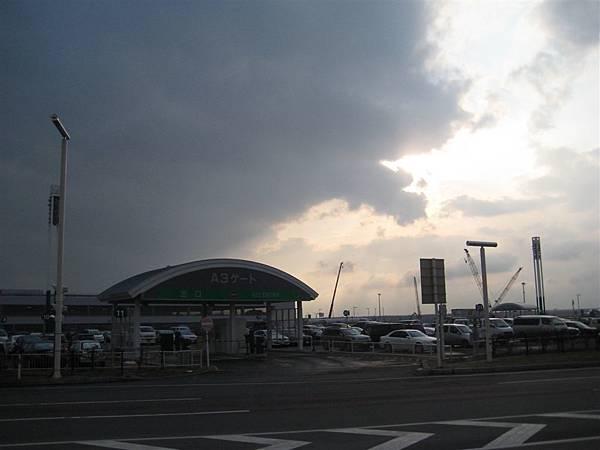 新千歲機場外的天空