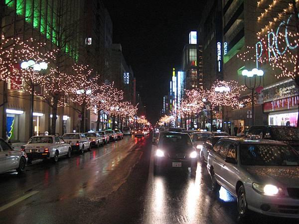 美麗的街景