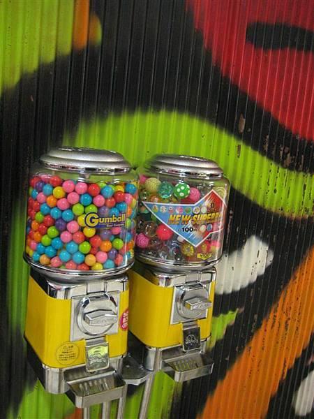 可愛的泡泡糖機
