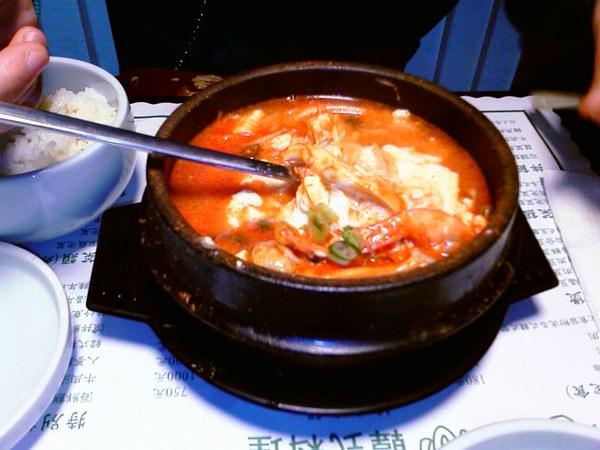 海鮮豆腐鍋