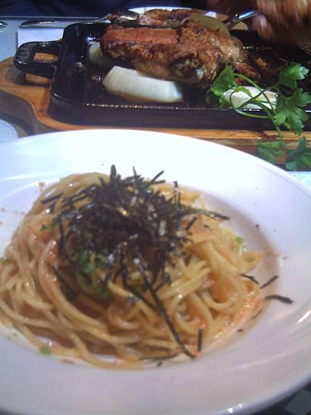 紫蘇明太子義大利麵
