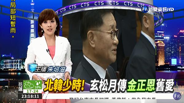 朱培滋 華視主播 2018/01/15 華視夜間新聞