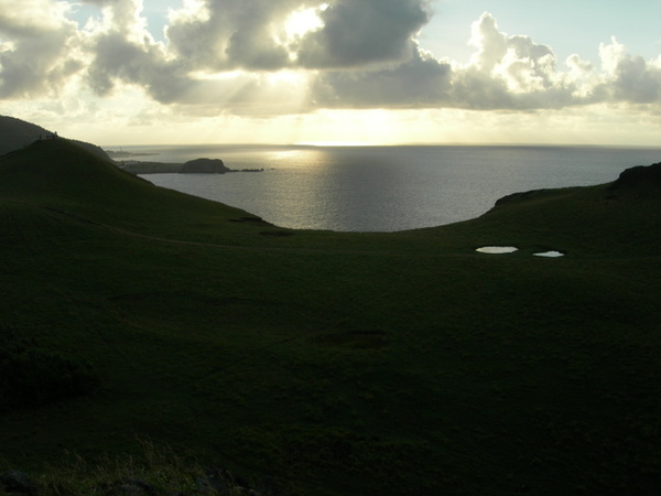 綠島的日落