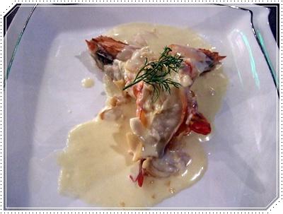 菲片奶油風味醬燴老虎蝦