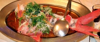 一魚四吃之清蒸魚