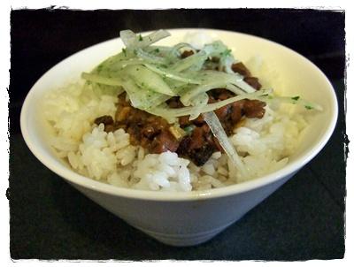 鮪魚滷肉飯