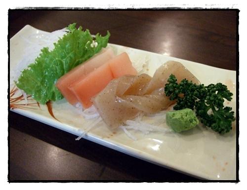 紅鮪魚生魚片