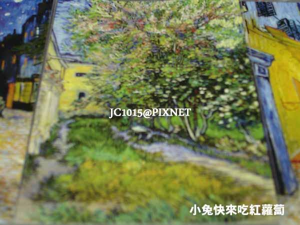 燃燒的靈魂‧梵谷(明信片:1889 聖雷米療養院的花園)