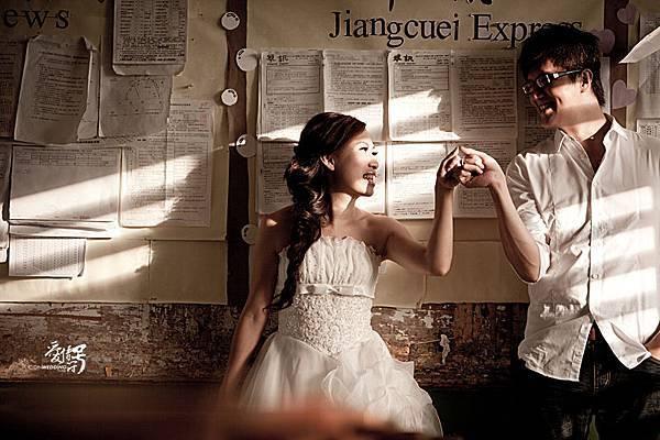 自助婚紗【要幸福喔!】玩拍婚紗