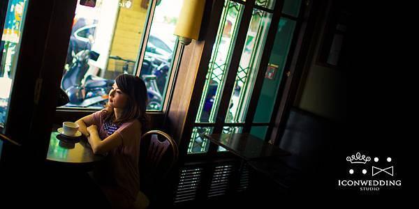自助婚紗【愛情符號咖啡館】