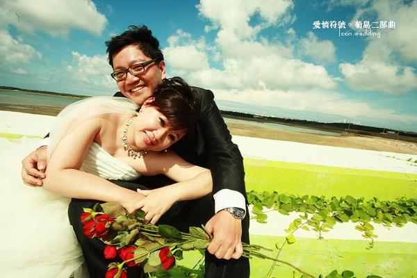 自助婚紗【菊島二部曲】自拍婚紗