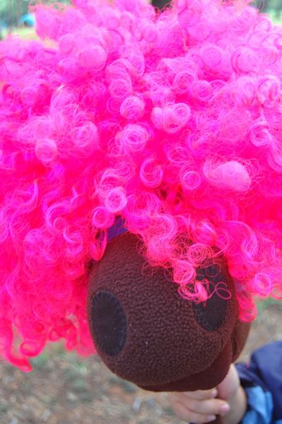粉紅爆炸馬