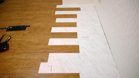 磁磚地板除膠前-2