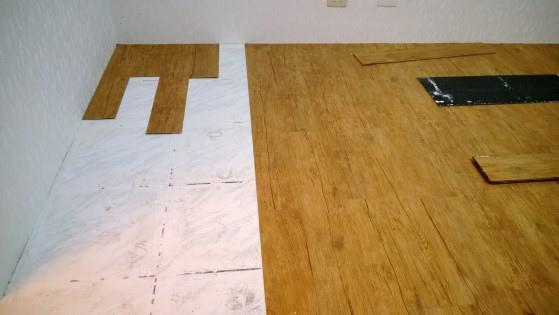 磁磚地板除膠前-1