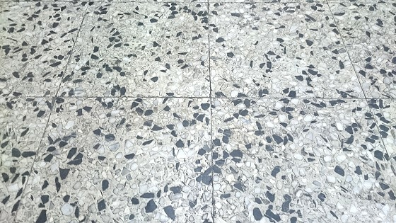 磨石子地板研磨前2