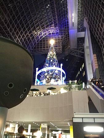 12/2京都車站聖誕樹