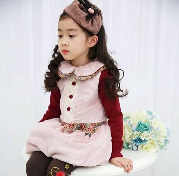 粉紅背心裙3