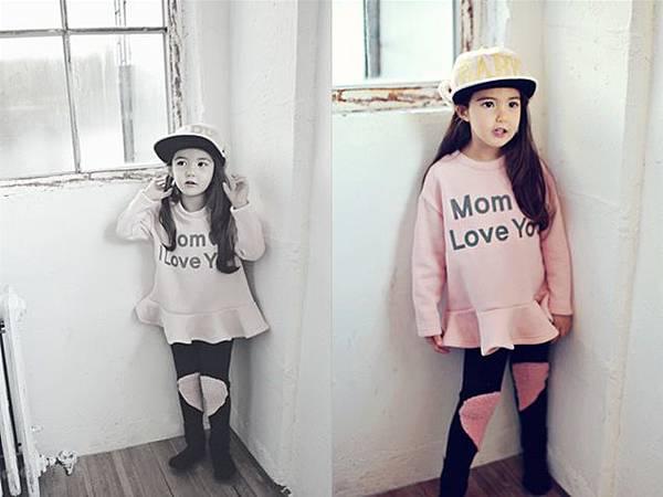 Peach and Cream 愛心套裝Mom I Love You 03
