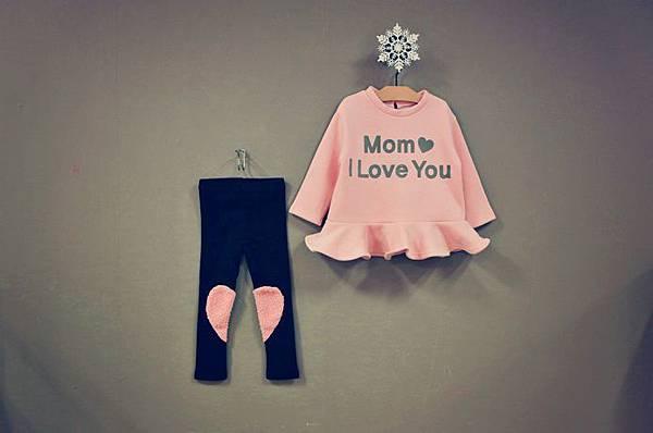 Peach and Cream 愛心套裝Mom I Love You 01