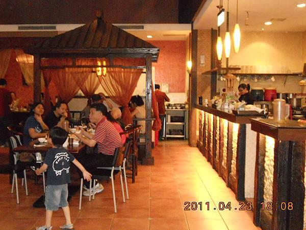 東坡醉月餐廳內部