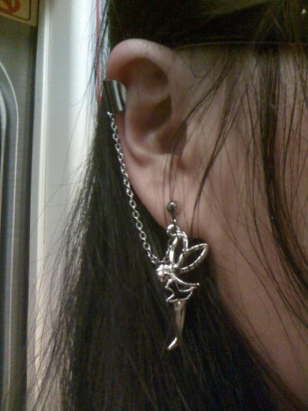 俏皮的小精靈耳環2