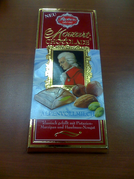 雅清送的巧克力5