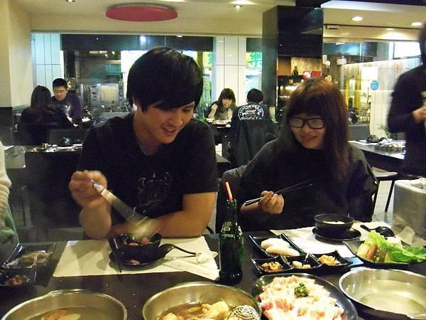 在櫻川壽喜燒吃飯