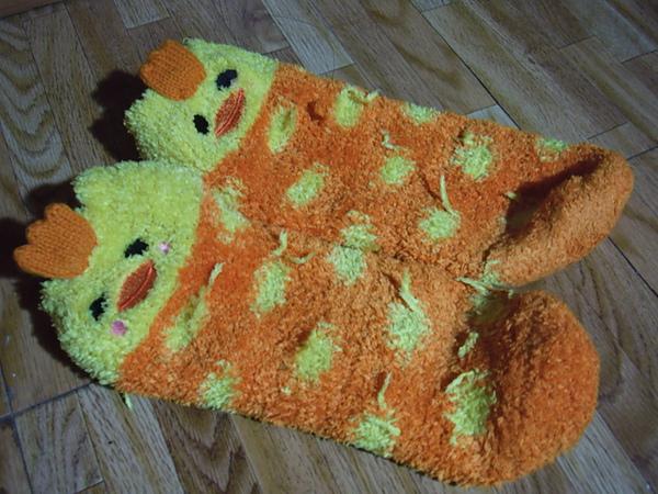 阿姨送的襪子