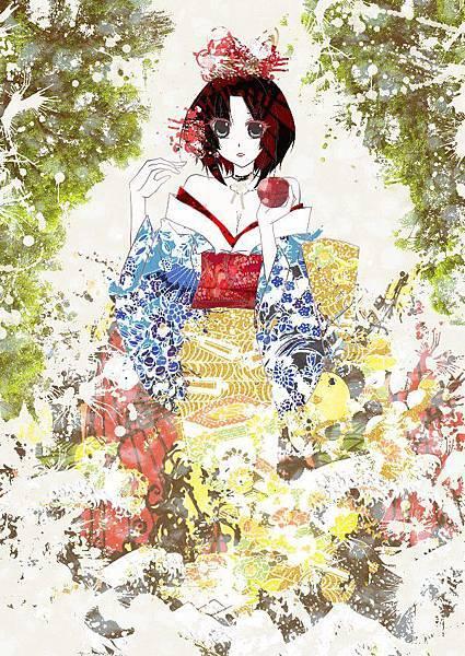 【White】